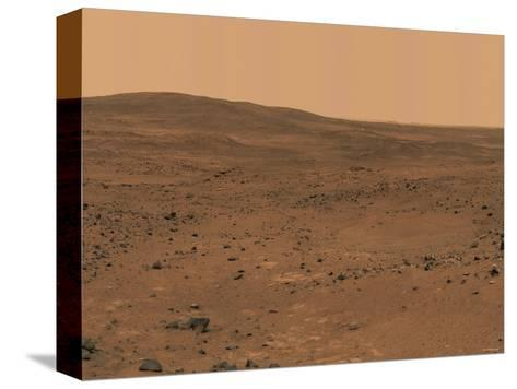 The Inner Basin of Mars-Stocktrek Images-Stretched Canvas Print