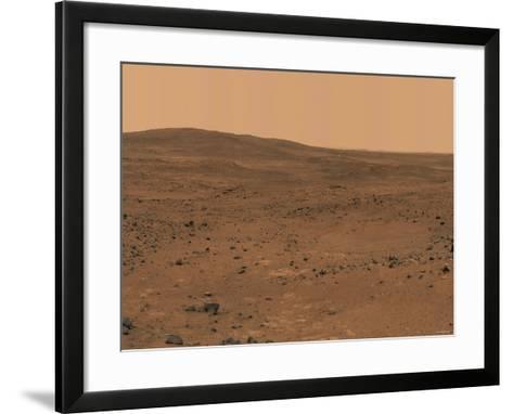 The Inner Basin of Mars-Stocktrek Images-Framed Art Print