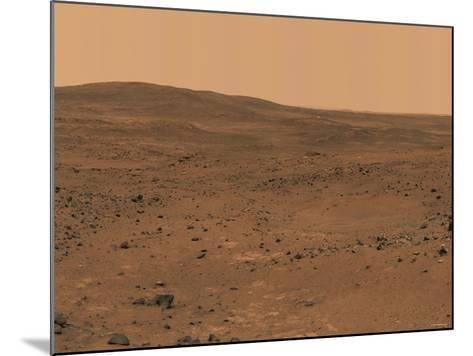 The Inner Basin of Mars-Stocktrek Images-Mounted Photographic Print