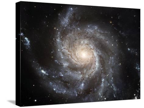 Spiral Galaxy Messier 101 (M101)-Stocktrek Images-Stretched Canvas Print