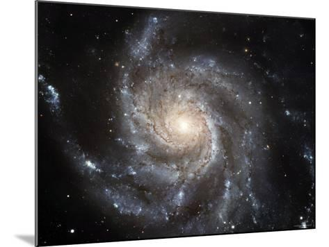 Spiral Galaxy Messier 101 (M101)-Stocktrek Images-Mounted Photographic Print