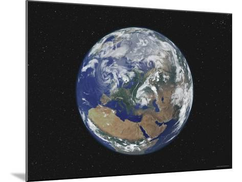 Earth Centered on Europe-Stocktrek Images-Mounted Photographic Print