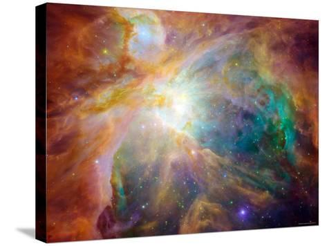 Orion Nebula-Stocktrek Images-Stretched Canvas Print