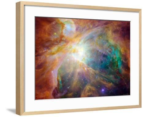 Orion Nebula-Stocktrek Images-Framed Art Print