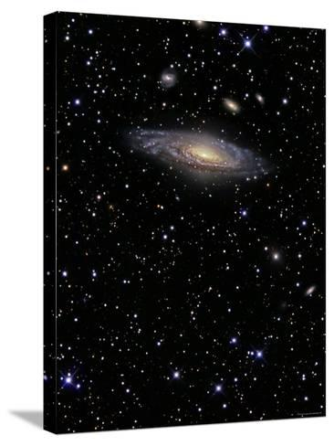NGC 7331 is a Spiral Galaxy in the Constellation Pegasus-Stocktrek Images-Stretched Canvas Print