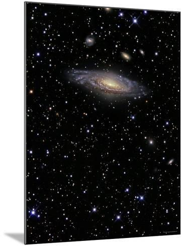 NGC 7331 is a Spiral Galaxy in the Constellation Pegasus-Stocktrek Images-Mounted Photographic Print