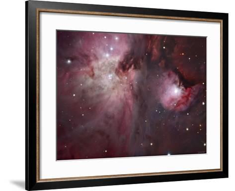 A View of the Trapezium Region, Which Lies in the Heart of the Orion Nebula-Stocktrek Images-Framed Art Print