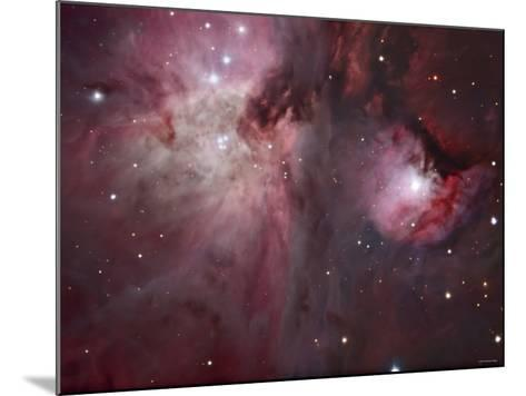 A View of the Trapezium Region, Which Lies in the Heart of the Orion Nebula-Stocktrek Images-Mounted Photographic Print