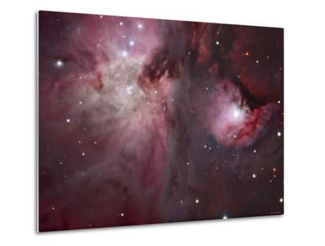 A View of the Trapezium Region, Which Lies in the Heart of the Orion Nebula-Stocktrek Images-Metal Print