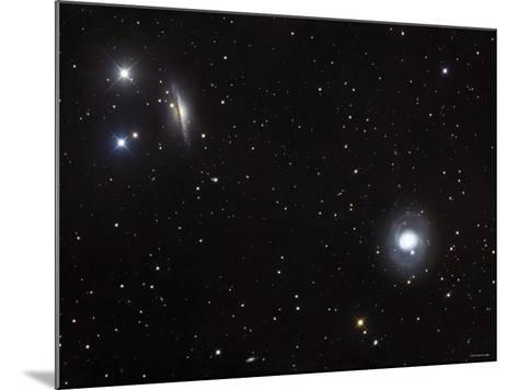 Messier 77 (NGC 1068), and NGC 1055 are Both Spiral Galaxies Located in the Constellation Cetus-Stocktrek Images-Mounted Photographic Print