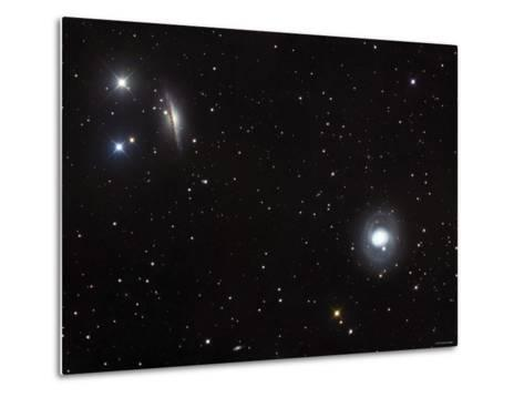 Messier 77 (NGC 1068), and NGC 1055 are Both Spiral Galaxies Located in the Constellation Cetus-Stocktrek Images-Metal Print