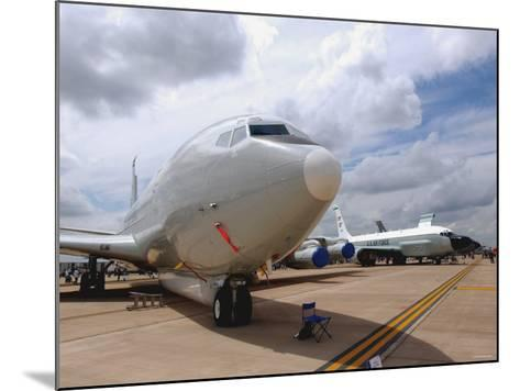 E-8C Joint Surveillance Target Attack Radar System and a RC-135V/W Rivet Joint Aircraft-Stocktrek Images-Mounted Photographic Print