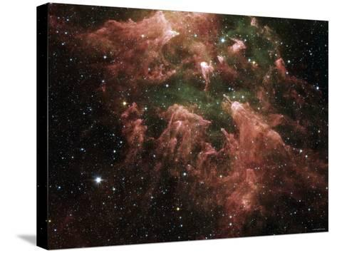 The South Pillar Region of the Star-Forming Region Called the Carina Nebula-Stocktrek Images-Stretched Canvas Print
