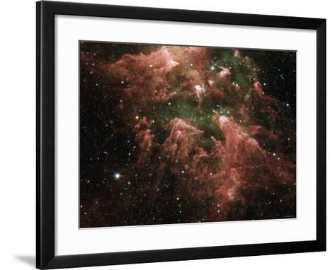 The South Pillar Region of the Star-Forming Region Called the Carina Nebula-Stocktrek Images-Framed Art Print