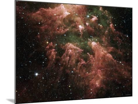 The South Pillar Region of the Star-Forming Region Called the Carina Nebula-Stocktrek Images-Mounted Photographic Print
