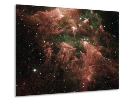 The South Pillar Region of the Star-Forming Region Called the Carina Nebula-Stocktrek Images-Metal Print