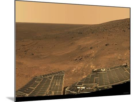 September 1, 2005, Panoramic View of Mars Taken from the Mars Exploration Rover-Stocktrek Images-Mounted Photographic Print