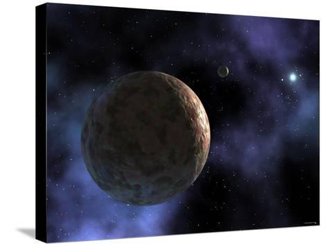 Sedna, the Newly Discovered Planet-Like Object, is Shown at the Outer Edges of the Solar System-Stocktrek Images-Stretched Canvas Print