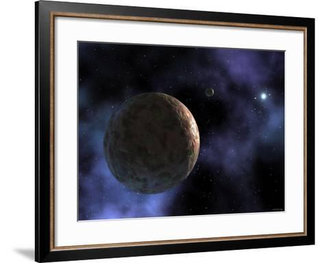 Sedna, the Newly Discovered Planet-Like Object, is Shown at the Outer Edges of the Solar System-Stocktrek Images-Framed Art Print