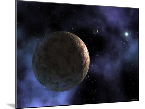 Sedna, the Newly Discovered Planet-Like Object, is Shown at the Outer Edges of the Solar System-Stocktrek Images-Mounted Photographic Print