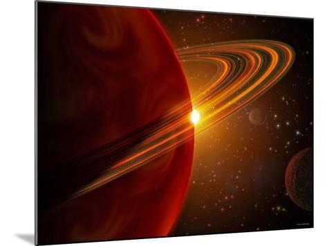 This is an Artist's Concept of Giant Planet Recently Discovered Orbiting the Sun-Like Star 79 Ceti-Stocktrek Images-Mounted Photographic Print