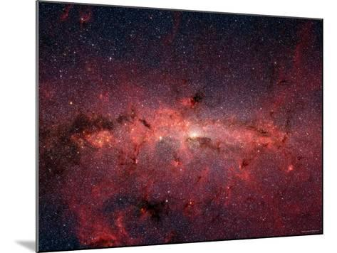 The Center of the Milky Way Galaxy-Stocktrek Images-Mounted Photographic Print
