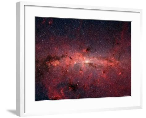 The Center of the Milky Way Galaxy-Stocktrek Images-Framed Art Print