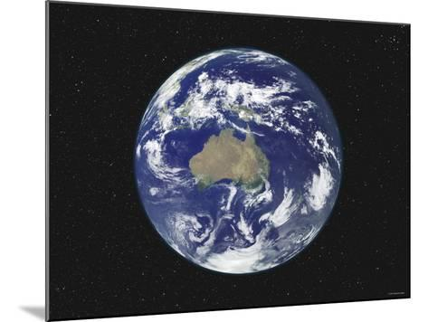 Earth Centered on Australia and Oceania-Stocktrek Images-Mounted Photographic Print
