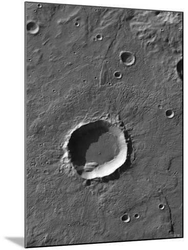 The Largest Number of Gullies on Mars Occur on the Walls of Southern Hemisphere Craters-Stocktrek Images-Mounted Photographic Print