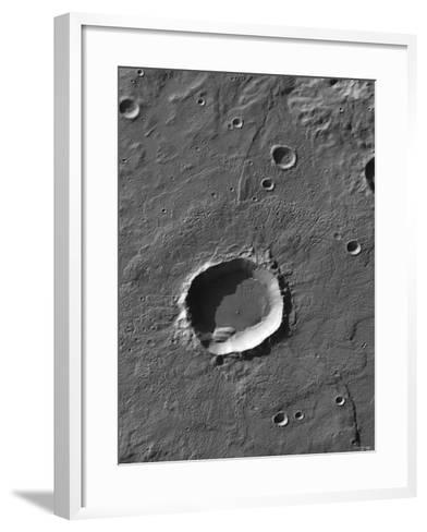 The Largest Number of Gullies on Mars Occur on the Walls of Southern Hemisphere Craters-Stocktrek Images-Framed Art Print