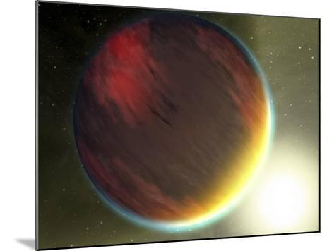 This Artist's Concept Shows a Cloudy Jupiter-Like Planet That Orbits Very Close to Its Star-Stocktrek Images-Mounted Photographic Print