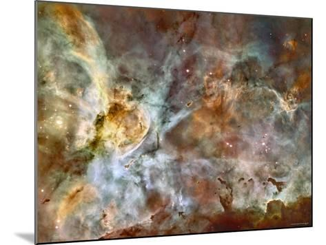 A 50-Light-Year-Wide View of the Central Region of the Carina Nebula-Stocktrek Images-Mounted Photographic Print