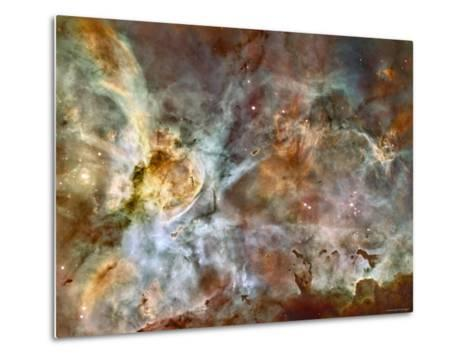 A 50-Light-Year-Wide View of the Central Region of the Carina Nebula-Stocktrek Images-Metal Print
