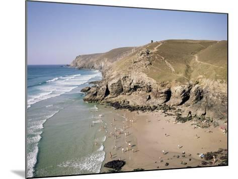 Beach at Chapel Porth, Near St. Agnes, Cornwall, England, United Kingdom-Richard Ashworth-Mounted Photographic Print