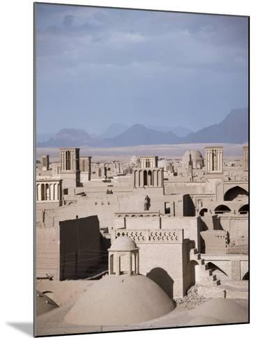 Rooftops and Wind Towers, Yazd, Iran, Middle East-Richard Ashworth-Mounted Photographic Print