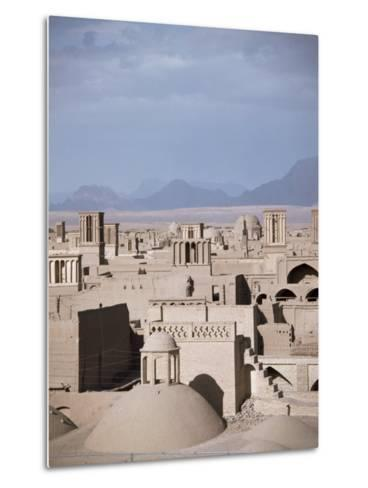 Rooftops and Wind Towers, Yazd, Iran, Middle East-Richard Ashworth-Metal Print