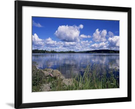 Summer, Lake at Ramen, North of Filipstad, Eastern Varmland, Sweden, Scandinavia-Richard Ashworth-Framed Art Print