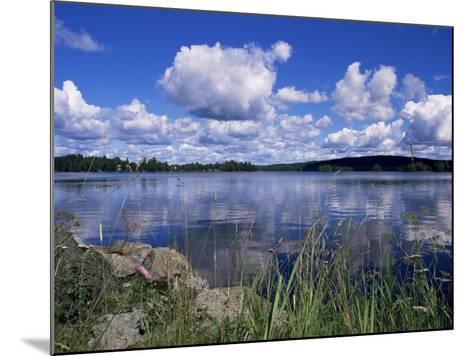 Summer, Lake at Ramen, North of Filipstad, Eastern Varmland, Sweden, Scandinavia-Richard Ashworth-Mounted Photographic Print