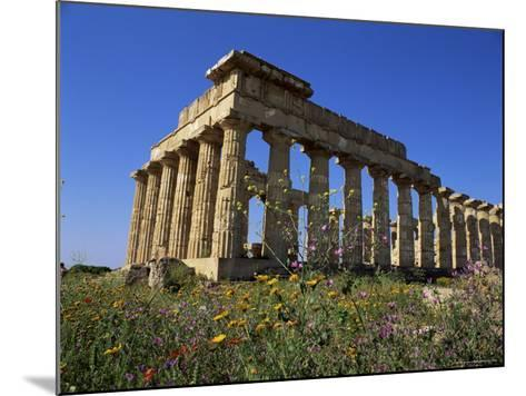 Temple E, Dating from 5th Century Bc, Selinunte, Near Castelventrano, Sicily, Italy-Richard Ashworth-Mounted Photographic Print