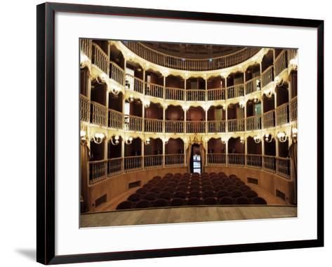 Teatro Torti, Within the Gothic Shell of Former Palazzo Dei Consoli, Umbria-Richard Ashworth-Framed Art Print