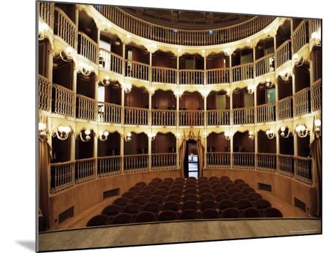 Teatro Torti, Within the Gothic Shell of Former Palazzo Dei Consoli, Umbria-Richard Ashworth-Mounted Photographic Print