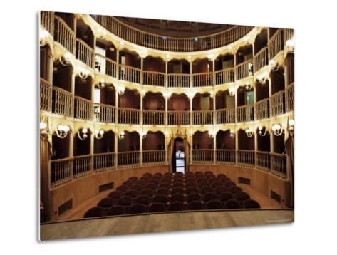 Teatro Torti, Within the Gothic Shell of Former Palazzo Dei Consoli, Umbria-Richard Ashworth-Metal Print