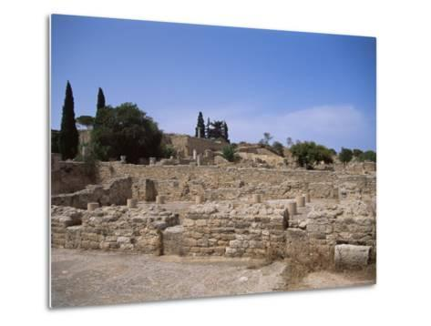 Remains of Roman Villas, Carthage, Unesco World Heritage Site, Tunisia, North Africa, Africa-Nelly Boyd-Metal Print