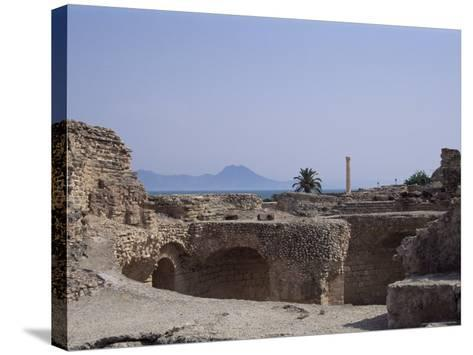 Antonine Baths, Carthage, Unesco World Heritage Site, Tunisia, North Africa, Africa-Nelly Boyd-Stretched Canvas Print