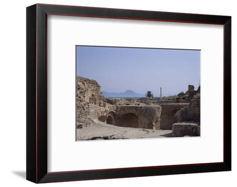 Antonine Baths, Carthage, Unesco World Heritage Site, Tunisia, North Africa, Africa-Nelly Boyd-Framed Art Print