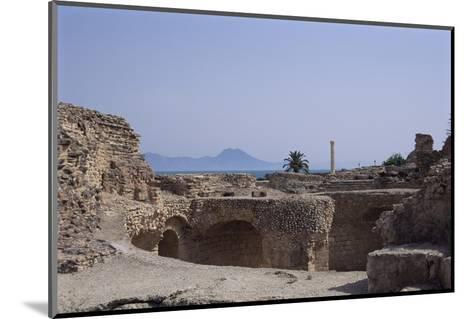 Antonine Baths, Carthage, Unesco World Heritage Site, Tunisia, North Africa, Africa-Nelly Boyd-Mounted Photographic Print