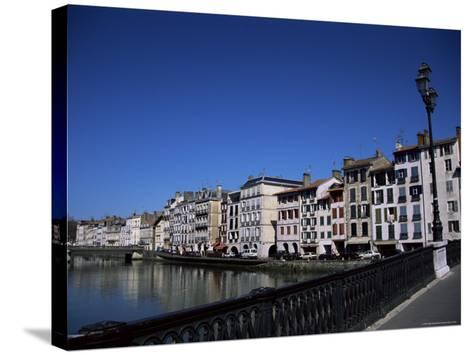 Bayonne on the River Adour, Pays Basque, Aquitaine, France-Nelly Boyd-Stretched Canvas Print