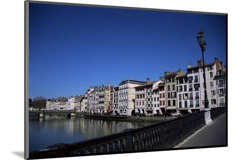 Bayonne on the River Adour, Pays Basque, Aquitaine, France-Nelly Boyd-Mounted Photographic Print