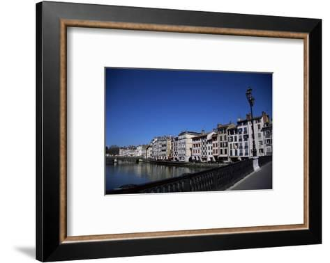 Bayonne on the River Adour, Pays Basque, Aquitaine, France-Nelly Boyd-Framed Art Print