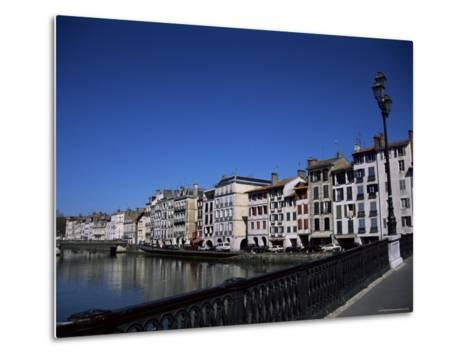 Bayonne on the River Adour, Pays Basque, Aquitaine, France-Nelly Boyd-Metal Print